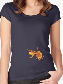 Goldfish Shirt Style 1 Women's Fitted Scoop T-Shirt