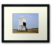 Lighthouse at Burnham-on-Sea Framed Print