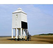 Lighthouse at Burnham-on-Sea Photographic Print