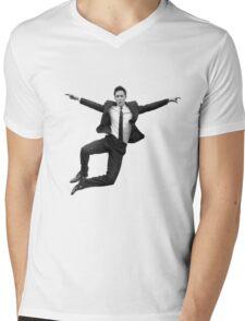 Tom Hiddleston Mens V-Neck T-Shirt