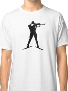 Biathlon winter sports Classic T-Shirt