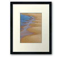 Shoreline Wavey Framed Print