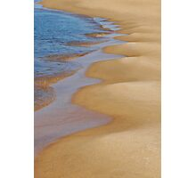 Shoreline Wavey Photographic Print