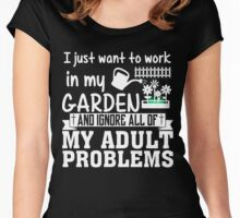 Gardening Women's Fitted Scoop T-Shirt