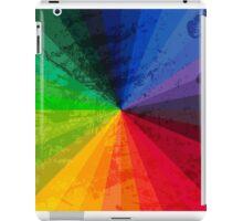 Rainbow Graphic Design Color Wheel iPad Case/Skin