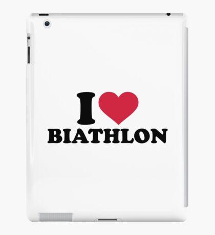 I love Biathlon iPad Case/Skin