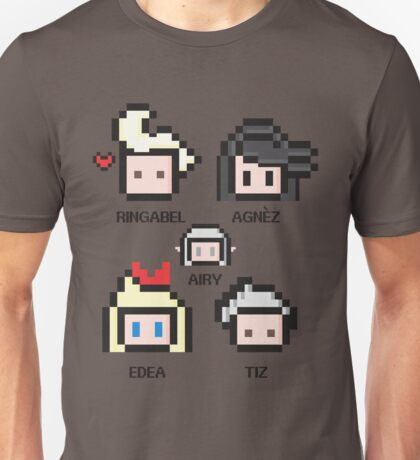 Bravely Pixels Unisex T-Shirt