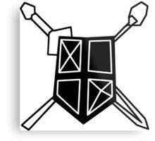 Adventurers Guild Seal Metal Print