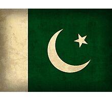 Pakistan Flag Photographic Print
