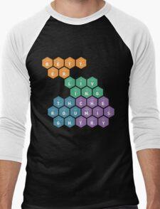 Better Living Through Chemistry Men's Baseball ¾ T-Shirt