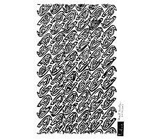 LINE : Multi-Exposure Bird Photographic Print