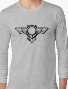 Winged Globe, Symbol of the perfected soul, Egyptian Sun Disc  Long Sleeve T-Shirt