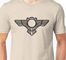 Winged Globe, Symbol of the perfected soul, Egyptian Sun Disc  Unisex T-Shirt