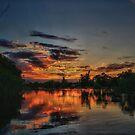 Sunrise Over The 'Bidgee by Mark Cooper