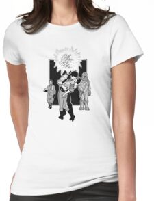 Victory Kiss (Light Tee) Womens Fitted T-Shirt