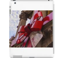 Christmas bow at Melbourne Town Hall iPad Case/Skin