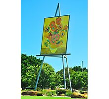 The Big Easel and Painting Photographic Print