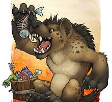 The Hungry Gnoll by MonsterHunt