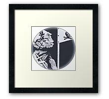 Pirate Cat Roberts Framed Print