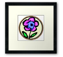 The Perfect Flower To Me Framed Print
