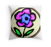 The Perfect Flower To Me Throw Pillow