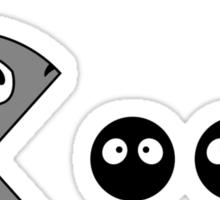 Totoro PacMan Sticker