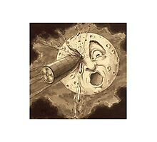 A Voyage to the Moon - Vintage Film Art Photographic Print