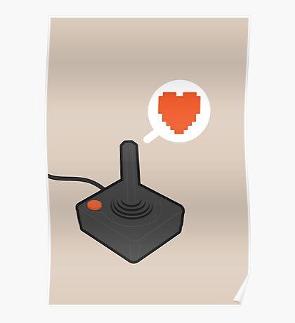 I HEART ATARI Poster