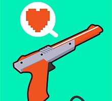 I HEART NES ZAPPER by purplepixel