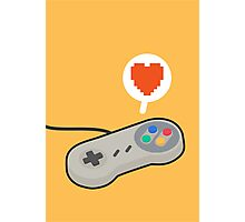I HEART SNES Photographic Print