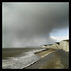 Storm over Beachy head by willgudgeon