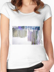Reflections abstract Women's Fitted Scoop T-Shirt