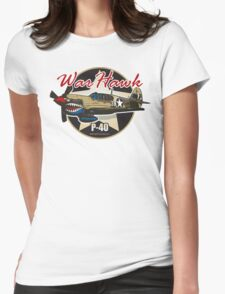 P-40 Warhawk Womens Fitted T-Shirt