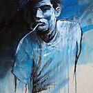 MAN SMOKING BLUES by GRAFFMATT