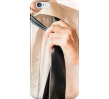 The businessman after work iPhone Case/Skin