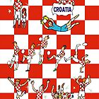 World Cup 2014 CROATIA by colortown