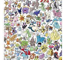 pokemon by zombie404