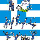 World Cup 2014 GREECE by colortown