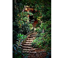 Stairs. Park Guell Photographic Print