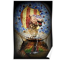 Dragon. Park Guell Poster