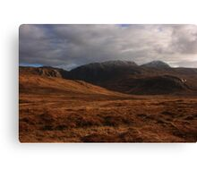 Derryveagh Mountains Canvas Print