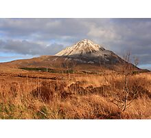 Mount Errigal From The West Photographic Print