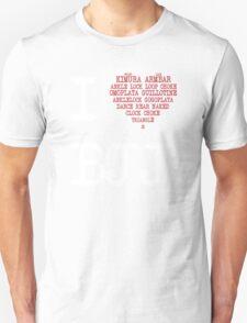 I Love BJJ T-Shirt T-Shirt