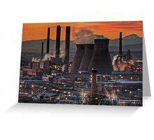 Grangemouth Refinery (3) Greeting Card