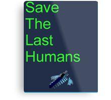 Resogun Save the Last Humans Metal Print