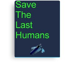 Resogun Save the Last Humans Canvas Print