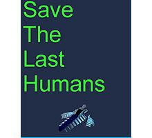 Resogun Save the Last Humans Photographic Print
