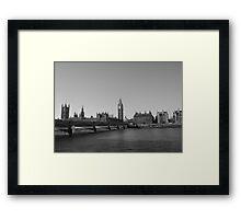 Remember London Framed Print