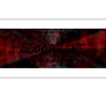 BLOOD LINE Sticker