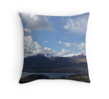 Looking over Keswick Throw Pillow